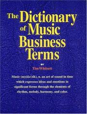 The Dictionary of Music Business Terms PDF