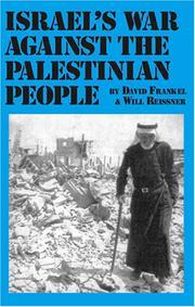 Israel's War Against the Palestinian People PDF