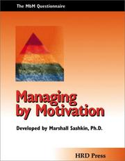 Managing by Motivation Assessment PDF
