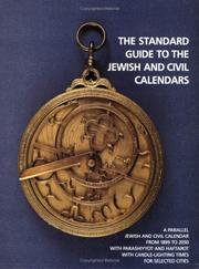 The standard guide to the Jewish and civil calendars by Fred Reiss
