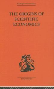 The origins of scientific economics PDF