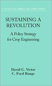 Sustaining a revolution by David G Victor