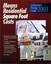 Means Residential Square Foot Costs PDF