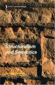 Structuralism and Semiotics (New Accents) PDF
