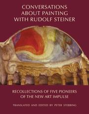 Conversations about Painting with Rudolf Steiner by Peter Stebbing