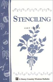 Cover of: Stenciling | Judy Tuttle