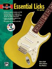Essential Licks for Guitar PDF