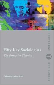 Fifty Key Sociologists PDF