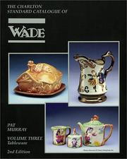 Wade Tableware, Volume Three PDF