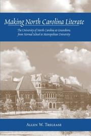 Making North Carolina literate by Allen W. Trelease