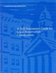 Self-Assessment Guide for Community Preservation Organizations by Katherine Adams