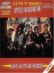 Guns N' Roses - Appetite For Destruction PDF