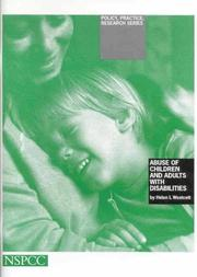 Abuse of Children and Adults with Disabilities (Policy, Practice, Research) PDF