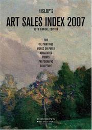 2007 Hislop's Art Sales Index PDF