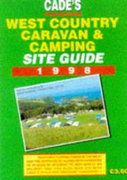 West Country Caravan & Camping Site Guide 1999 PDF