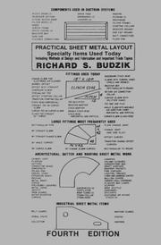 Practical sheet metal layout by Richard S. Budzik