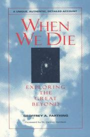 When We Die - A Unique, Authentic Account PDF