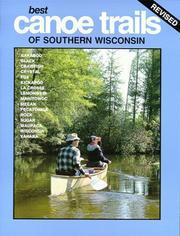 Best Canoe Trails of Southern Wisconsin PDF