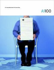 AR100 Annual Report Award Showbook