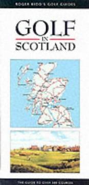 Golf in Scotland PDF