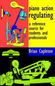 Piano Action Regulating PDF