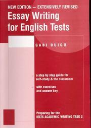 Essay Writing for English Tests PDF