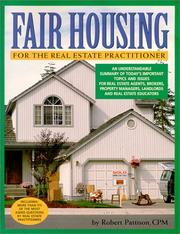 Fair Housing for the Real Estate Practitioner PDF