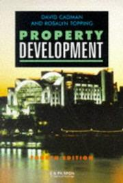Property Development by David Cadman