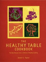 The Healthy Table Cookbook PDF