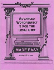 Advanced WordPerfect 9 for the Legal User Made Easy PDF