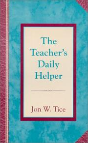 The Teacher's Daily Helper PDF