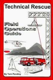 Technical Rescue Field Operations Guide PDF