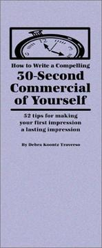 How to Write a Compelling 30-Second Commercial of Yourself PDF