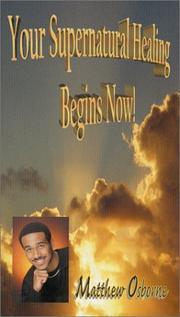 Your Supernatural Healing Begins Now! PDF