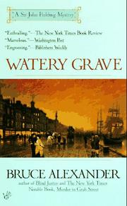 Watery Grave (Sir John Fielding) PDF