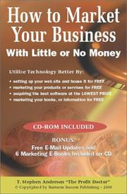 How To Market Your Business With Little or No Money (includes CD) PDF