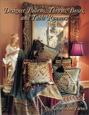 Designer Pillows, Throws, Boxes and Table Runners PDF