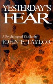 Yesterday's Fear PDF