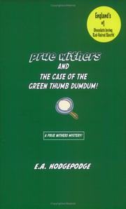 Prue Withers and the Case of the Green Thumb Dum Dum! PDF