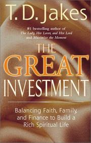 The Great Investment PDF