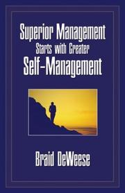 Superior Management Starts with Greater Self-Management PDF
