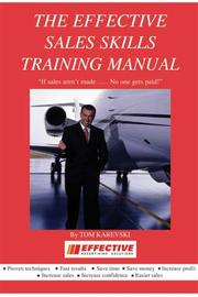 The Effective Sales Skills Training Manual PDF