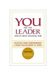 You Are the Leader You've Been Waiting For PDF