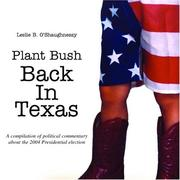 Plant Bush back in Texas PDF