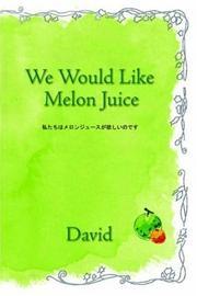 We Would Like Melon Juice PDF