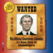 The Official Countdown Calendar for a Bushed, Bullied, but Emboldened America 2008 PDF