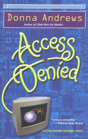 Access denied by Donna Andrews