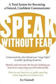 Speak Without Fear by Ivy Naistadt