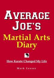 Average Joe's Martial Arts Diary PDF