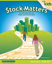 Stock Matters for Kids PDF